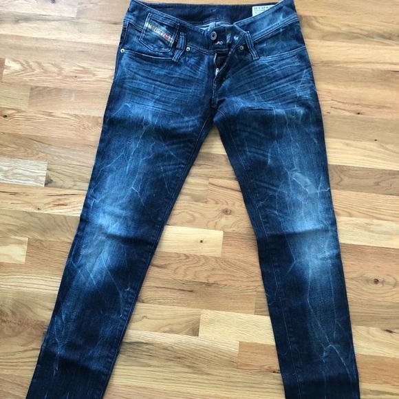 09872b9f Diesel Denim - Diesel MATIC slim tapered jeans